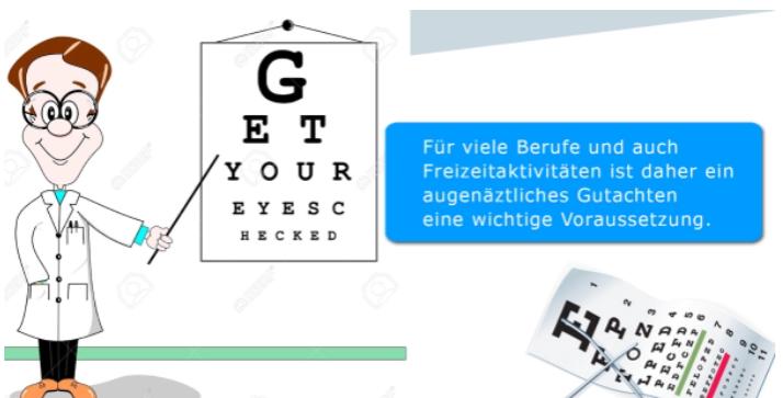 Wartezimmer-TV-Digital-Signage-Leistungen-Augekontrolle
