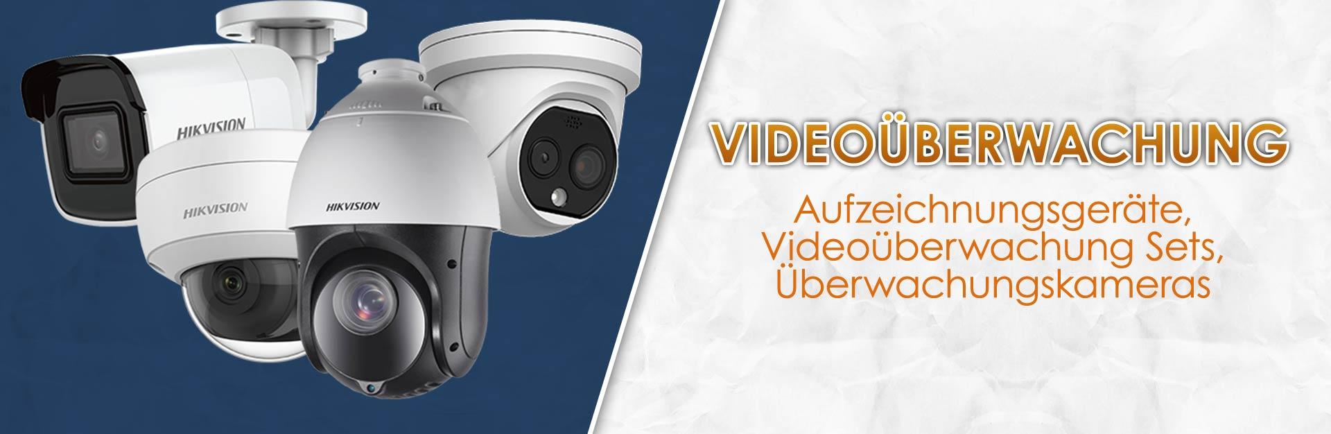 Videoueberwachung-Set-Überwachungskamera-Security-Objektsicherheit-OrangeComputer-HD