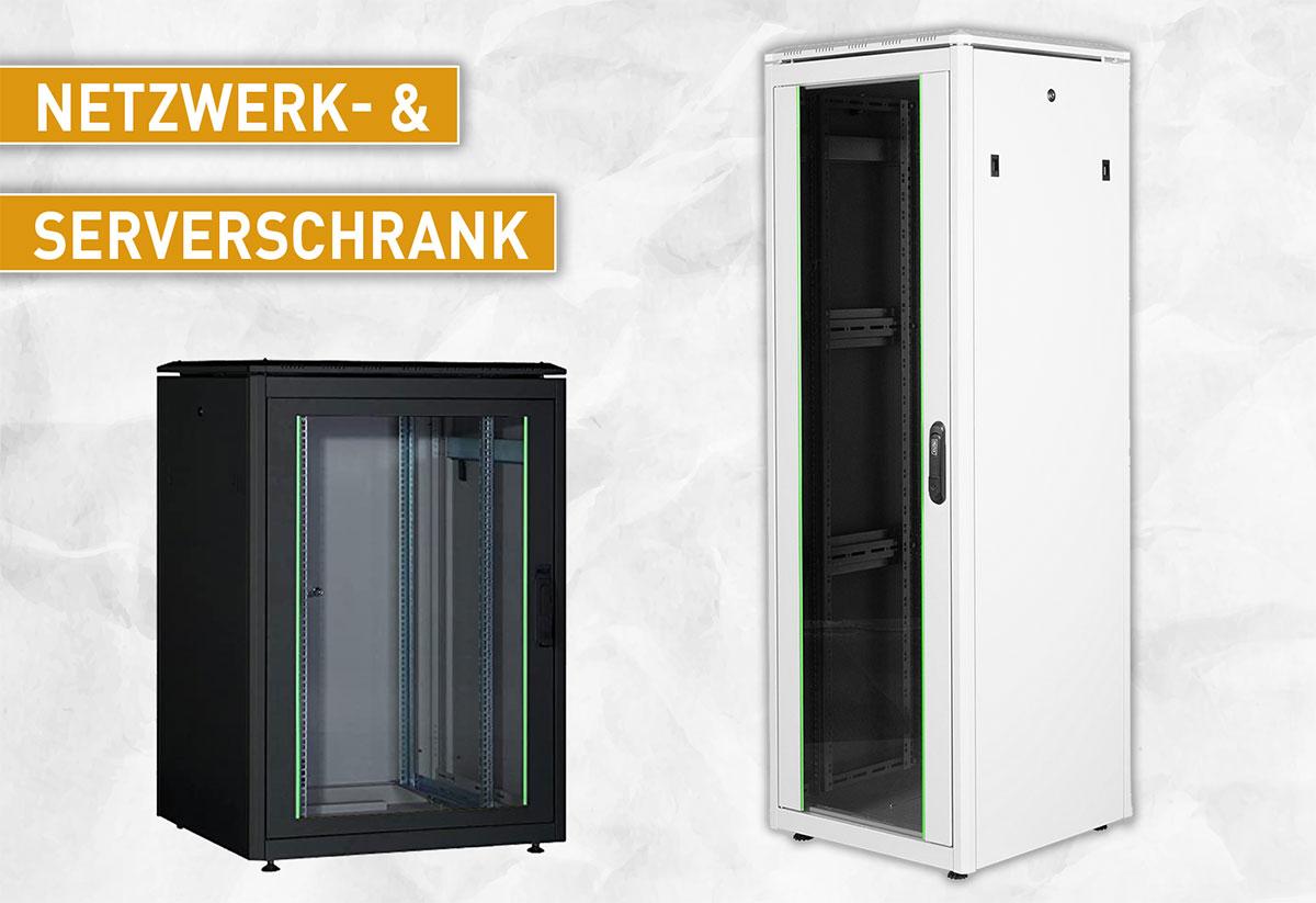 Netzwerkschrank-Serverschrank-19-Zoll-it-edv-verkabelung-switch-nas-router