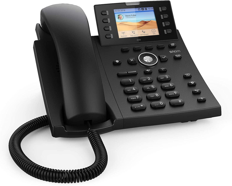 Snom-D335-IP-Telefon-Telefonie-Tischtelefon-Audio-Software-OrangeComputer