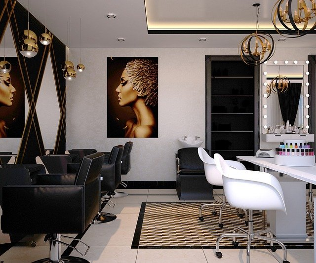 Videoüberwachung-IP-Kamera-Sicherheit-Beauty-Wellness-Salon-Friseur-Spa