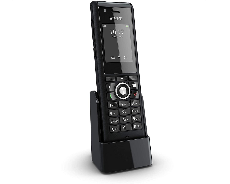 snom-dect-schwarz-telefon-ip-voip-m85-industrie-telefonie-orangecomputer